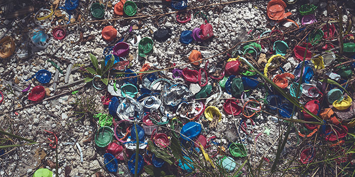 Plastic waste in nature. Photo: Colourbox
