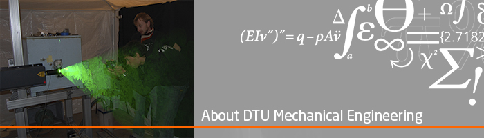 About DTU Mechanical Engineering